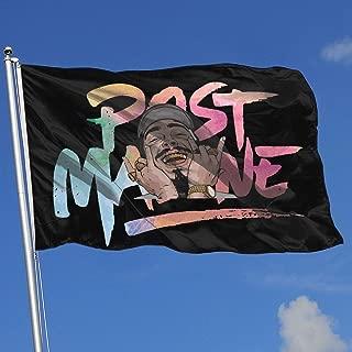 BSYHGLE TSEGF Post Malone Holiday Yard Flag Banner Home Decoration Garden Flag Indoor Outdoor Decor 3x5 Foot