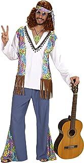 Hippie Woodstock Costume da Figlio dei Fiori Taglia S