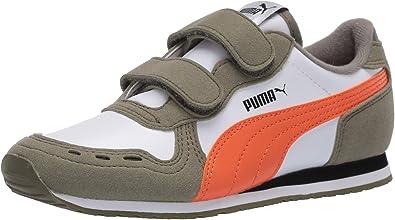 PUMA Unisex-Child Cabana Racer Hook and Loop Sneaker