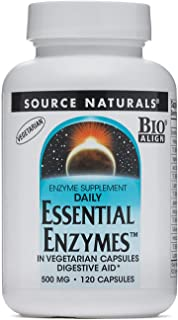 Essential Enzymes Vegetarian 500mg VegCap Source Naturals, Inc. 120 VCaps