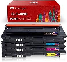 Toner Kingdom Cartucho de tóner para Samsung CLT-P4092C CLT-K4092S CLT-C4092S CLT-Y4092S CLT-M4092S CLP-310 CLP-310N CLP-315 CLP-315W CLX-3175 CLX-3175FN (Pack de 4)