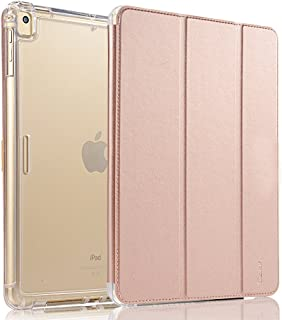 Valkit For iPad mini Case,iPad mini 2 Case,iPad mini 3 Case,Shockproof Protective Smart Stand Protective Heavy Duty Rugged Impact Resistant Armor Cover,Rose gold