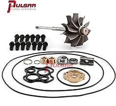 Pulsar Turbo Turbine Wheel Shaft+360 Degree Rebuild Kit for 94-97 7.3L Powerstroke OBS Truck TP38 Turbo