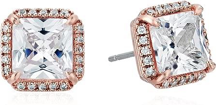 Best clear glass stud earrings Reviews