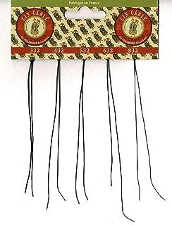 シノワ Fil Au Chinois 手縫い用麻糸(リネン)太さ見本