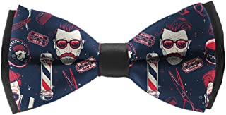 Men & Boys elegant 1 Bow Tie Adjustable Christmas Formal Bowties, Pre-Tied Ties
