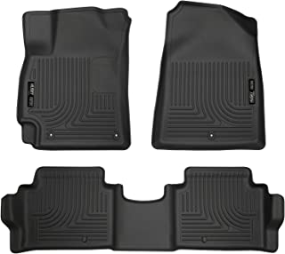 Husky Liners Fits 2017-19 Hyundai Elantra Weatherbeater Front & 2nd Seat Floor Mats