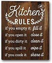 Funny Kitchen Rules Sayings Wall Art Prints 8