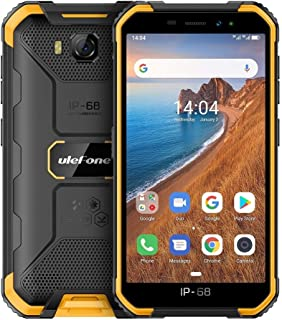 JUNSHEN SmartPhone Electronic Communication Device JUNSHEN Armor X6 Rugged Phone, 2GB+16GB, IP68/IP69K Waterproof Dustproo...