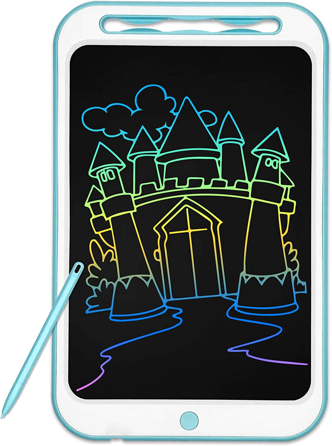 Richgv LCD Writing Tablet Doodle Board, 12 Inch Colorful Drawing Tablet Writing Pad Portable , Boys Girls Gifts Educational Learning Toys for 3 4 5 6 7 8 yeas Old Kids
