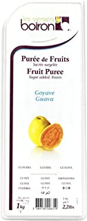 Boiron Guava Fruit Puree - 2.2 lbs - Finest Fruit Puree for Cocktails, Smoothies, Healthy Drinks from France