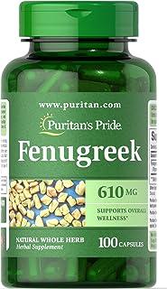 Cápsulas de fenogreco (Fenugreek) 610 mg 100 caps -