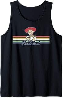 Disney Pixar Toy Story Jessie Cowgirl Rainbow Stripe Yee Haw Tank Top