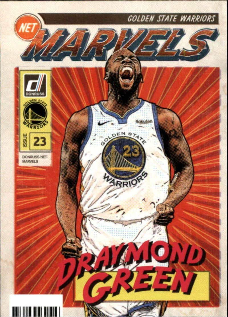 2019-20 Donruss NBA Net Marvels #3 Golden Genuine Free Shipping Draymond OFFicial mail order State W Green