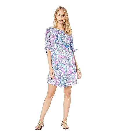 Lilly Pulitzer Preston Dress (Pink Tropics Mermaids Call) Women