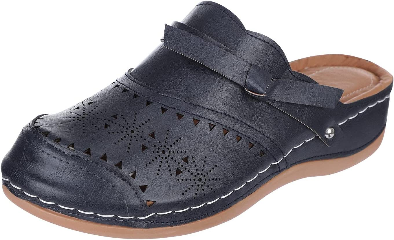 One76 Women's Fashion Attention brand Casual Platform Round Carved Head S Boston Mall Hollow