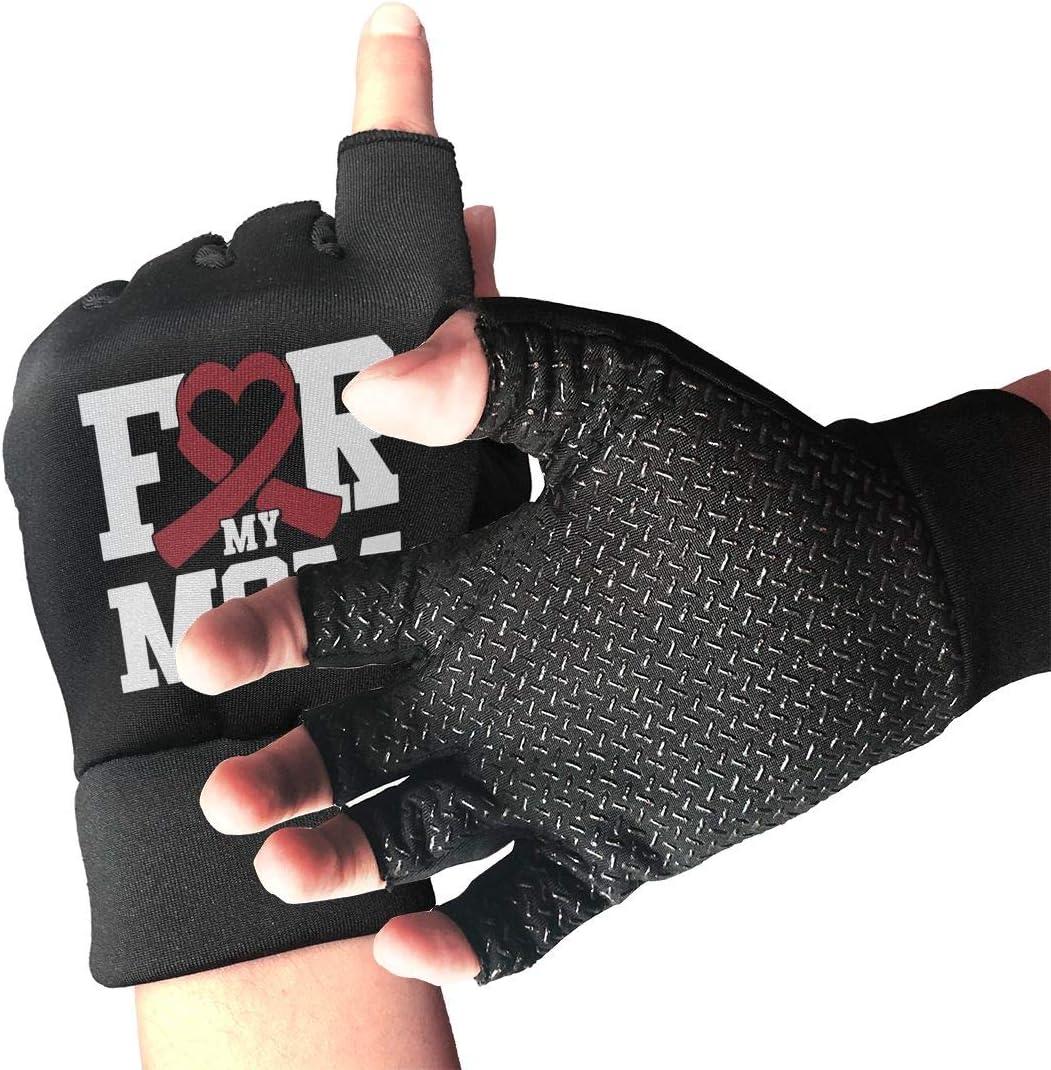 OFFicial Unisex Max 44% OFF Multiple Myeloma Awareness Flag Gloves for Fingerless Art