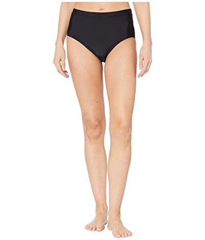 Speedo High-Waist Bottoms (Speedo Black) Women