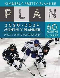 5 year monthly planner 2020-2024: Monthly Schedule Organizer - Agenda Planner For The Next Five Years, 60 Months Calendar,...