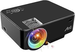 Retroprojecteur, Artlii Videoprojecteur Portable LED Soutien HD 1080p HDMI USB VGA AV..