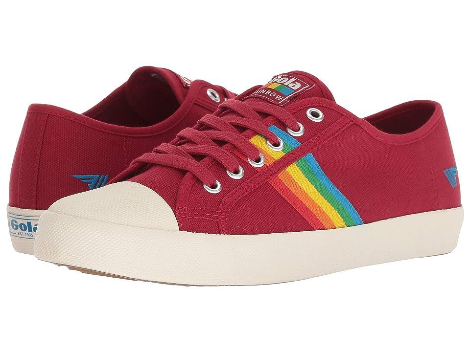 60s Shoes, Boots   70s Shoes, Platforms, Boots Gola Coaster Rainbow Deep RedMulti Womens Shoes $65.00 AT vintagedancer.com