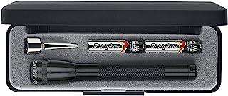 Maglite M3A012 Mini Incandescent LED Flashlight, Black