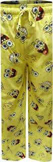 Mad Engine Men's Nickelodeon Spongebob Happy Faces Lounge Pants