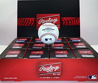 rawlings major league baseballs dozen