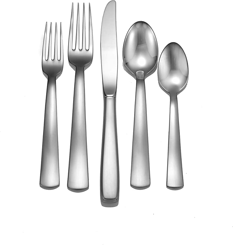 Liberty Tabletop Satin America 45 Piece 18 10 Flatware Set For 8 Made In USA