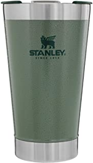 Stanley Classic Stay Chill Vacuum Insulated Pint Glass Tumbler, 16oz Stainless Steel Beer Mug...