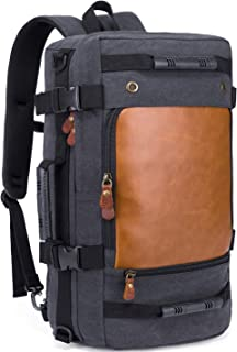 KAKA Travel Duffle Backpack Carry-On Bag fit 15.6'' Laptop