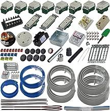 準備万端 (2回練習分) 第二種電気工事士技能試験練習用材料 「全13問分の器具・電線セット」