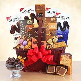California Delicious Godiva Connoisseur Gift Basket