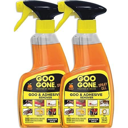 Goo Gone Original Spray Gel - Sticker Remover - 12 Fl. Oz.