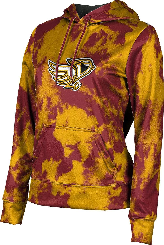 ProSphere Davison High School Girls' Pullover Hoodie, School Spirit Sweatshirt (Grunge)