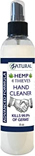 Waterless Hand Cleaner - 62% Alcohol - Effective on 99.9% of Germs (8oz Spray)