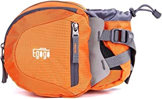EGOGO Travel Sport Waist Pack Fanny Pack Hiking Bum Bag with Water Bottle Holder S2209