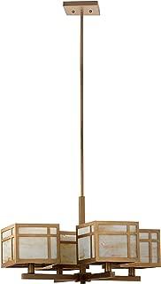 Safavieh Lighting Collection Craftsman Antique Gold 55.1-inch Chandelier
