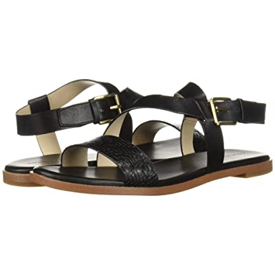 Cole Haan Findra Strappy Sandal (Black Leather) Women