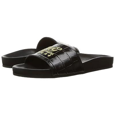 Dolce & Gabbana Kids Lux Slide (Little Kid) (Bluette) Girls Shoes