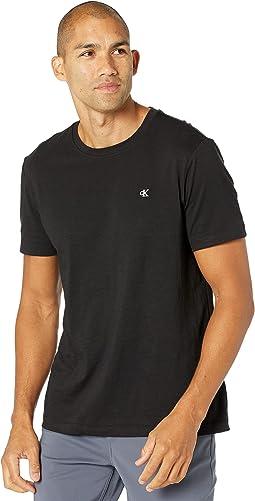 Short Sleeve Monogram Slub T-Shirt