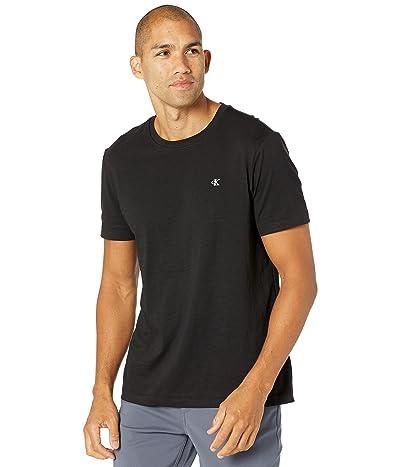 Calvin Klein Short Sleeve Monogram Slub T-Shirt