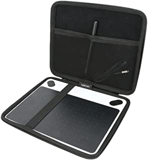 ワコム ペンタブレット Intuos Draw/Comic/Art/3D ペン&タッチ 6xx-M 対応 旅行収納 キャリングケース Khanka (690機種対応-M)