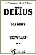 Sea Drift: Satb with Bar. Solo (Orch.)