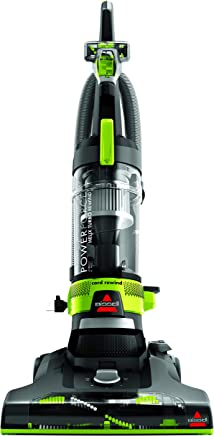 Bisssell Powerforce Helix Turbo Rewind Upright Vacuum Cleaner, Green -2261E