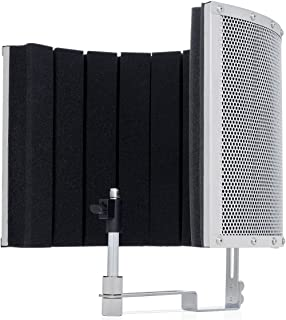 Marantz Professional Sound Shield Live | Professional Vocal Reflection Filter Featuring High Density Acoustic Foam Accommodates Any Size Microphone