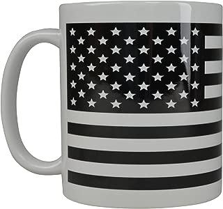 USA Subdued Flag Coffee Mug American Patriot Novelty Cup Military Veteran Gift