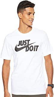 Nike Men's Sportswear Just Do It. T-Shirt, Shirts for Men with Classic Fit