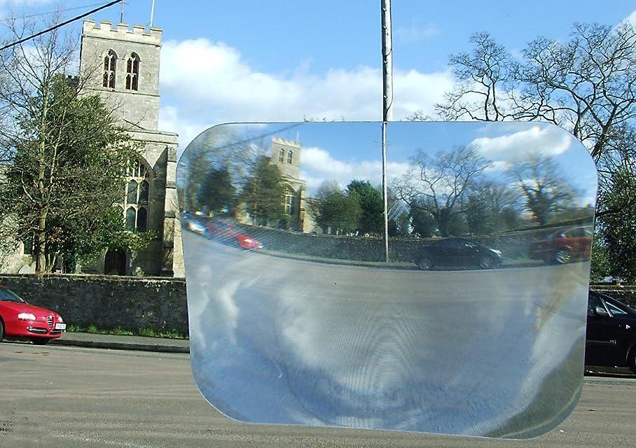 Great Ideas - Lente adhesiva para marcha atrás y aparcamiento con visión de gran angular para la luneta trasera de tu coche. Reduce los ángulos muertos y mejora la seguridad