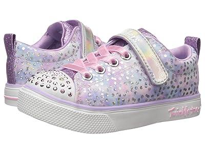 SKECHERS KIDS Twinkle Toes Twinkle Breeze 2.0 Unicorn Magic 20304L (Little Kid/Big Kid) (Lavender/Pink) Girl